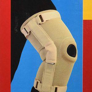 Gel bi-axle knee brace